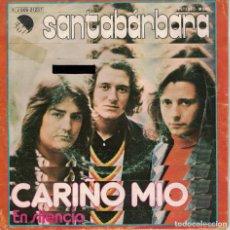 Discos de vinilo: SANTABARBARA - CARIÑO MIO / EN SILENCIO (SINGLE ESPAÑOL, EMI 1975). Lote 151720742