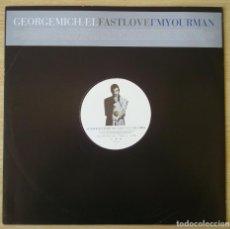 Discos de vinilo: GEORGE MICHAEL : FAST LOVE - DIFICIL MAXI SINGLE PROMOCIONAL EUROPA- 1996 VIRGIN VSTDJ 1579 - WHAM. Lote 151745914