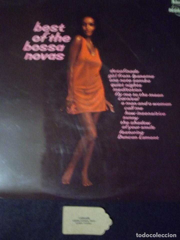 LP - BEST OF THE BOSSA NOVAS REGAL 1972 (Música - Discos de Vinilo - Maxi Singles - Jazz, Jazz-Rock, Blues y R&B)