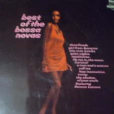 Discos de vinilo: LP - BEST OF THE BOSSA NOVAS REGAL 1972. Lote 151748042