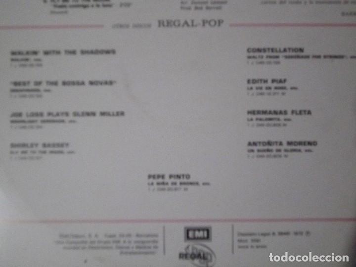 Discos de vinilo: lp - best of the bossa novas regal 1972 - Foto 3 - 151748042