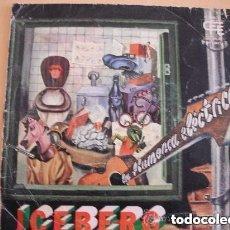 Discos de vinilo: ICEBERG - LA FLAMENCA ELECTRICA (SG) 1976. Lote 151749946