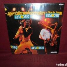 Discos de vinilo: ALBERT COLLINS - LIVE IN JAPAN. Lote 151757686