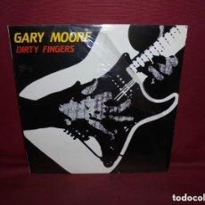 Discos de vinilo: GARY MOORE - DIRTY FINGERS. Lote 151764242