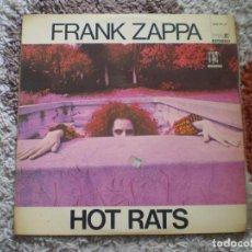 Discos de vinilo: LP. FRANK ZAPPA. HOT RATS. 1971. BUENA CONSERVACION.. Lote 151772386