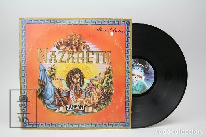 DISCO LP DE VINILO - NAZARETH / RAMPANT - MOONCREST - 1974 - CON ENCARTE (Música - Discos - LP Vinilo - Heavy - Metal)