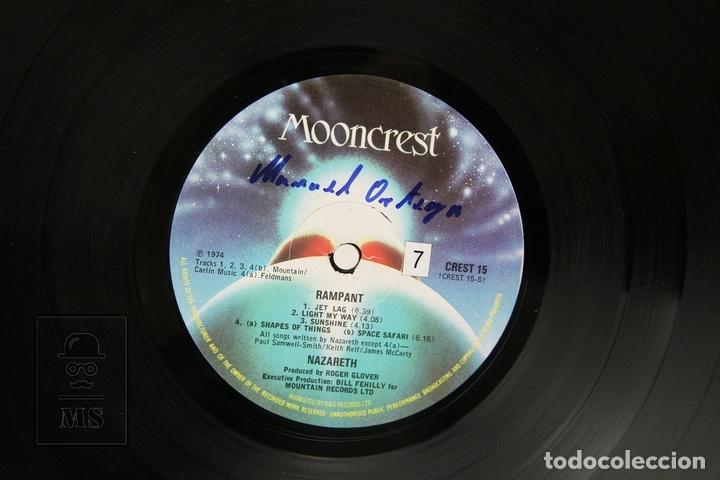 Discos de vinilo: Disco LP De Vinilo - Nazareth / Rampant - Mooncrest - 1974 - Con Encarte - Foto 2 - 151799549