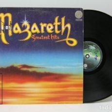 Discos de vinilo: DISCO LP DE VINILO - NAZARETH / GREATEST HITS - VERTIGO - 1975 - CON ENCARTE. Lote 151800009