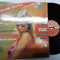 Discos de vinilo: HIT PARADE CHANTE POP HITS VOLUMEN 29. MARIO CAVALLERO SON ORCHESTRE ET SES CHANTEURS. Lote 151800518