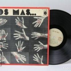 Discos de vinilo: DISCO LP DE VINILO - LOS MAS... / JARCHA, LOS RELAMPAGOS.... - NOVOLA - 1976 - PORTADA ABIERTA. Lote 151800998