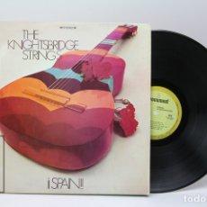 Discos de vinilo: DISCO LP DE VINILO -THE KNIGHTSBRIDGE STRINGS / SPAIN - MONUMENT - 1968. Lote 151802029