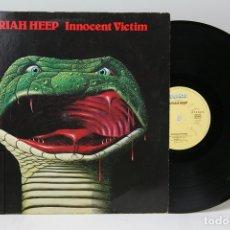 Discos de vinilo: DISCO LP DE VINILO - URIAH HEEP / INNOCENT VICTIM - BRONZE - 1977 - GERMANY. Lote 151803998