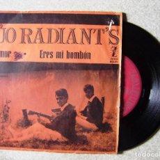 Discos de vinilo: DUO RADIANTS.EL AMOR-ERES MI BOMBON...ESCASO. Lote 151804034