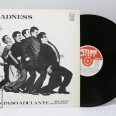 Discos de vinilo: DISCO LP DE VINILO - MADNESS / UN PASO ADELANTE - STIFF RECORDS - 1980 - CON ENCARTE. Lote 151804553
