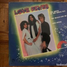 Discos de vinilo: LOVE FEVER ?– THE HOUSE OF THE RISING SUN / YOU REALLY GOT ME / LOVE FEVER SELLO: ZAFIRO ?– ZL-238 F. Lote 151804554