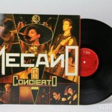 Discos de vinilo: DISCO LP DE VINILO - MECANO EN CONCIERTO - CBS - 1985. Lote 151805533