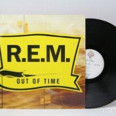 Discos de vinilo: DISCO LP DE VINILO - REM / OUT OF TIME - WARNER BROS - 1991 - CON ENCARTE. Lote 151806009