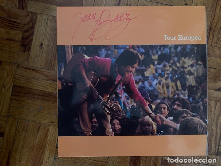 JOAN BAEZ ?– TOUR EUROPEA SELLO: PORTRAIT ?– PRT 32173 SERIE: PRECIO REDONDO – FORMATO: VINYL, LP (Música - Discos - LP Vinilo - Cantautores Extranjeros)