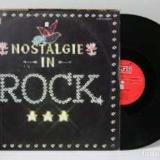 Discos de vinilo: DISCO LP DE VINILO - NOSTALGIE IN ROCK / DOLLARS DOLLARS, FLY IN THE NIGHT... - PUNKT - 1974. Lote 151818154
