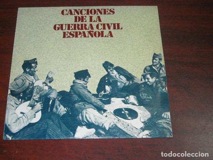 CANCIONES GUERRA CIVIL ESPAÑOLA-VINILO SINGLE- VER DETALLES (Música - Discos - Singles Vinilo - Otros estilos)