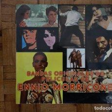 Discos de vinilo: ENNIO MORRICONE – BANDAS ORIGINALES DE PELICULAS SELLO: CAM – ZDL1-7107 FORMATO: VINYL, LP, COMPIL. Lote 151831826