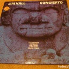 Discos de vinilo: JIM HALL LP CONCIERTO CHET BAKER RON CARTER PAUL DESMOND ORIGINAL ESPAÑA 1975 DESPLEGABLE. Lote 151833986