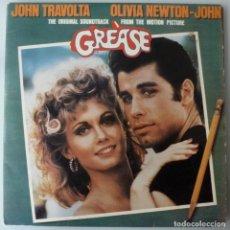 Discos de vinilo: B.S.O. GREASE (DOBLE LP RSO 1978 ESPAÑA) JOHN TRAVOLTA · OLIVIA NEWTON-JOHN. Lote 151836150