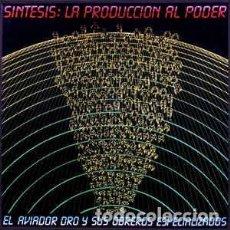 Discos de vinilo: EL AVIADOR DRO Y SUS OBREROS ESPECIALIZADOS–SINTESIS:LA PRODUCCION AL PODER-BOX 2LPS-1SINGLE Y LIBR0. Lote 151837150