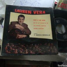 Discos de vinilo: LAUREN VERA EP PROMOCIONAL SER O NO SER + 3 1961. Lote 151845094