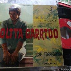 Discos de vinilo: LOLITA GARRIDO EP EL SOL DE LIMA + 3 1961. Lote 151845962