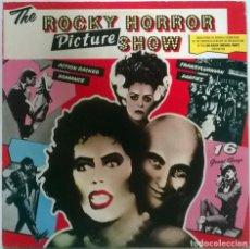 Discos de vinilo: LOU ALDER/ MICHAEL WHITE. ROCKY HORROR PICTURE SHOW (BSO). ODE (OSV 21653), UK 1975 LP. Lote 151850174