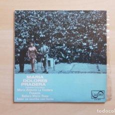 Discos de vinilo: MARIA DOLORES PRADERA - CANCIONES COLOMBIANAS - SINGLE - VINILO - ZAFIRO - 1969. Lote 151850642