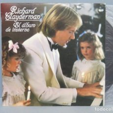Discos de vinilo: LP. RICHARD CLAYDERMAN. ALBUM DE INVIERNO. Lote 151854282