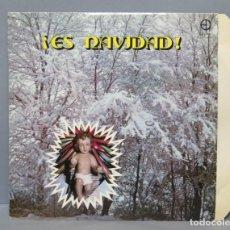 Discos de vinilo: LP. ES NAVIDAD. VILLANCICOS. LETRA JOSE ANTONIO OLIVAR. MUSICA CARLOS MONTERO. Lote 151854566