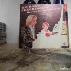 Discos de vinilo: RICHARD CLAYDERMAN - SINGLE - RECUERDOS DE INFANCIA (VER FOTO VER ESTADO FUNDA O CARATULA) . Lote 151857382