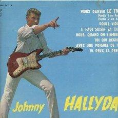 Discos de vinilo: JOHNNY HALLYDAY /LP 25 CM 10 PULGADAS 33 RPM / EDITADO POR PHILIPS ORIGINAL. Lote 151857394