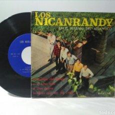 Discos de vinilo: EP SINGLE LOS NICANRANDY. Lote 151859200