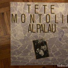 Discos de vinilo: TETE MONTOLIU – AL PALAU SELLO: EDIGSA – UM 2057, ZELESTE – UM 2057 FORMATO: 2 × VINYL, LP, GATEF. Lote 151859786