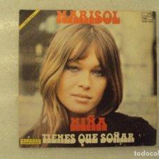 Discos de vinilo: MARISOL. NIÑA, TIENES QUE SOÑAR. SINGLE EDICION ESPAÑOLA 1972 ZAFIRO. Lote 151860434