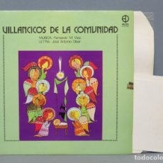 Discos de vinilo: LP. VILLANCICOS DE LA COMUNIDAD. FERNANDO M.VIEJO Y JOSE ANTONIO OLIVAR . Lote 151861282