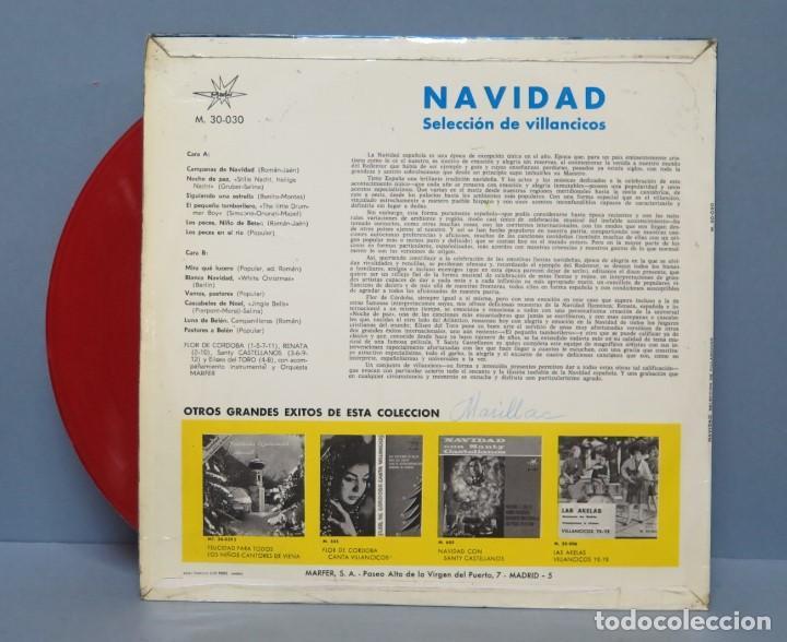 Discos de vinilo: LP. NAVIDAD. SELECCION DE VILLANCICOS - Foto 2 - 151861786