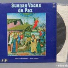 Discos de vinilo: LP. SUENAN VOCES DE PAZ. GREGORIO FERNANDEZ Y J. PEDRO MARTINS . Lote 151862070