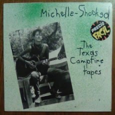 Discos de vinilo: MICHELLE - SHOCKED - THE TEXAS CAMPFIRE TAPES, DRO, 1987. SPAIN.. Lote 151865233