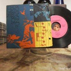 Discos de vinilo: DISCO FUNDADOR MODULOS - UN NUEVO DIA + 3 (VER FOTO VER ESTADO FUNDA O CARATULA) . Lote 151868602