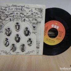 Discos de vinilo: MUSICA SINGLE: LA CHARANGA DEL TIO HONORIO - HAY QUE LAVALO / EL ONI (VER FOTO VER ESTADO FUNDA) . Lote 151869974