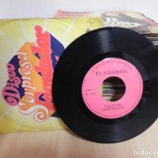Discos de vinilo: NUEVAS AMISTADES AS CAMPANAS 1971 DISCO SORPRESA FUNDADOR 10220 (VER FOTO VER ESTADO FUNDA O CARATUL. Lote 151870238