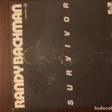 Discos de vinilo: RANDY BACHMAN ‎– SURVIVOR / IS THE NIGHT TOO COLD FOR DANCIN' SELLO: POLYDOR ‎– 20 66 955 . Lote 151872818