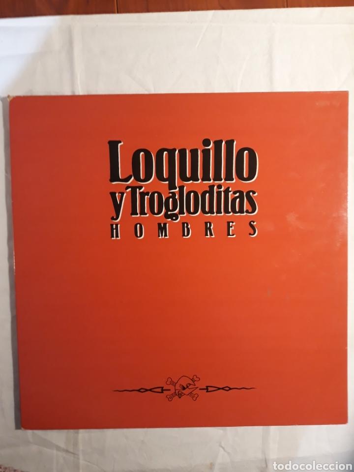 LOQUILLO Y LOS TROGLODITAS.HOMBRES. LP 1991. (Música - Discos - LP Vinilo - Grupos Españoles de los 90 a la actualidad)