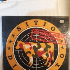 Disques de vinyle: SITIO DISTINTO.OS RESENTIDOS.ESTAMOS EN GUERRA.1991. Lote 151875946