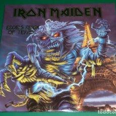 Discos de vinilo: IRON MAIDEN EDDIE'S REIGN OF TERROR DOBLE LP. Lote 151879366